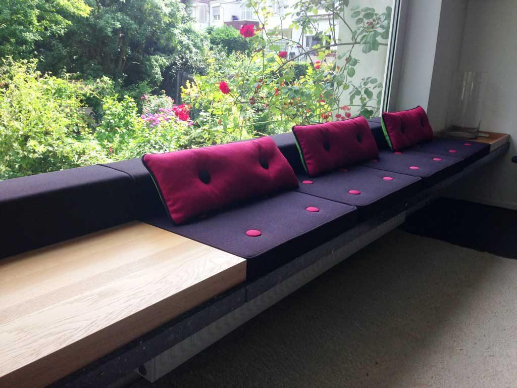 Sitzkissen Fensterbank