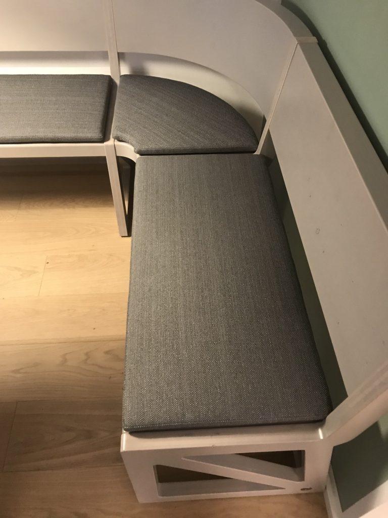 Sitzkissen für Eckbank
